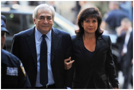 dsk and Anne Sinclair
