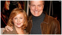 Stephen Collins and his wife
